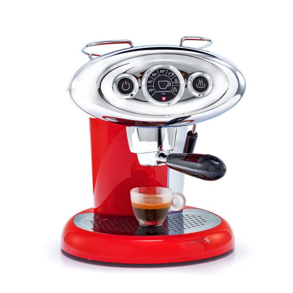 X7.1 iperEspresso Machine – Red 360