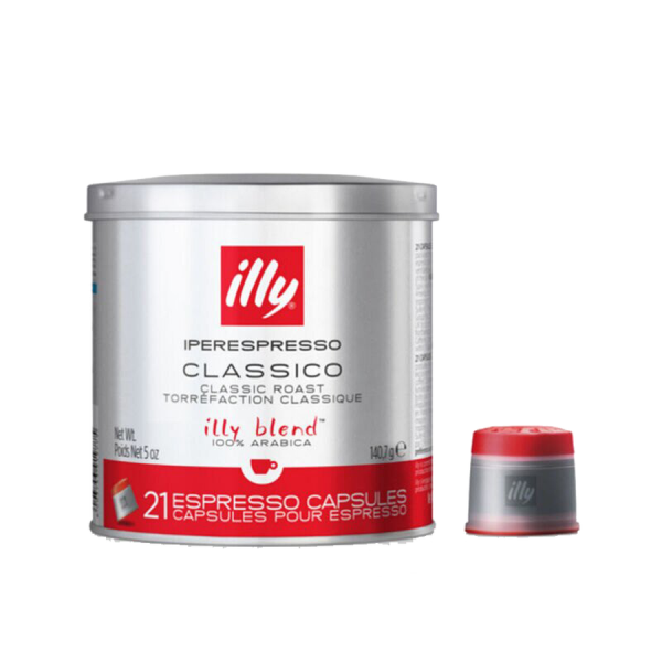 illy iperEspresso Capsules - Medium Roast (with capsule)
