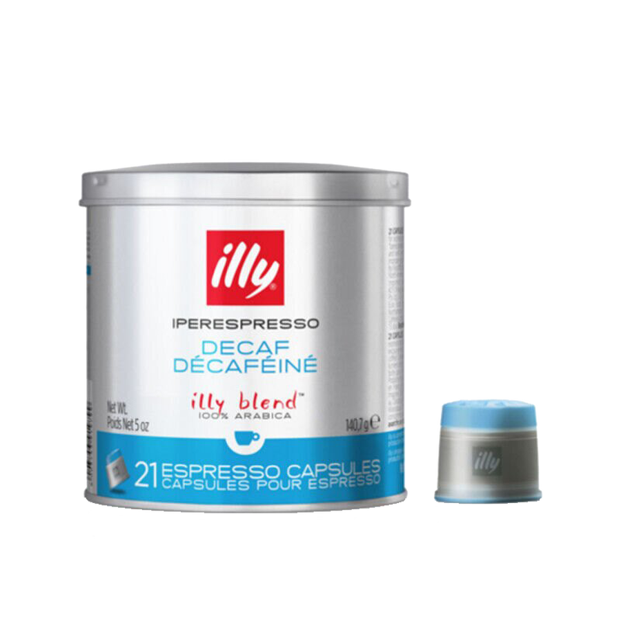 illy iperEspresso Capsules - Medium Roast Decaffeinated (with capsule)