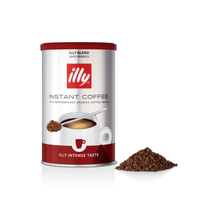 ILLY INSTANT COFFEE INTENSO TASTE – 95 GRAMS