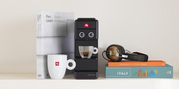 Y3.2 iperEspresso Espresso & Coffee Machine - Black on Shelf Video