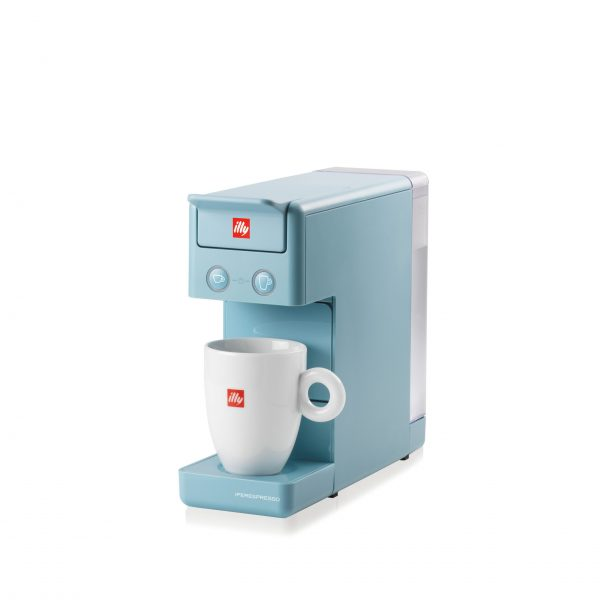 ILLY Y3.3 IPERESPRESSO LIGHT BLUE COFFEE MACHINE