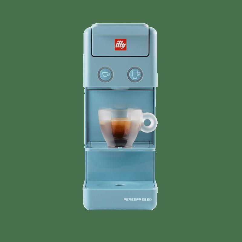 ILLY Y3.3 IPERESPRESSO LIGHT BLUE COFFEE MACHINE