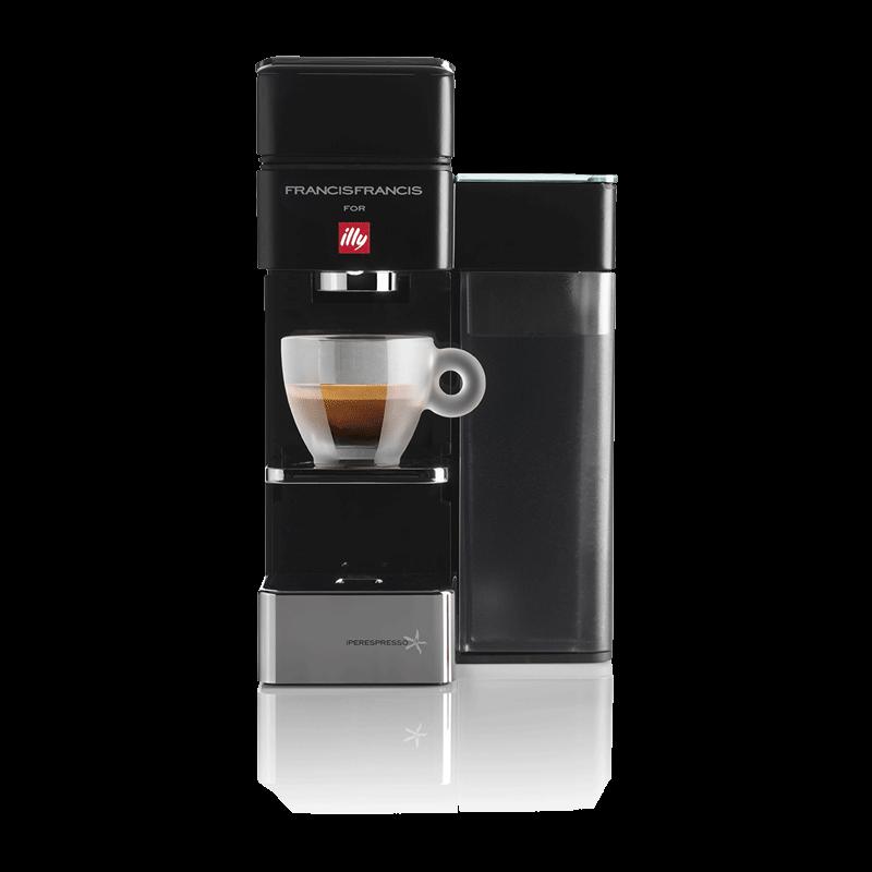 ILLY Y5 BLACK IPERESPRESSO & COFFEE MACHINE
