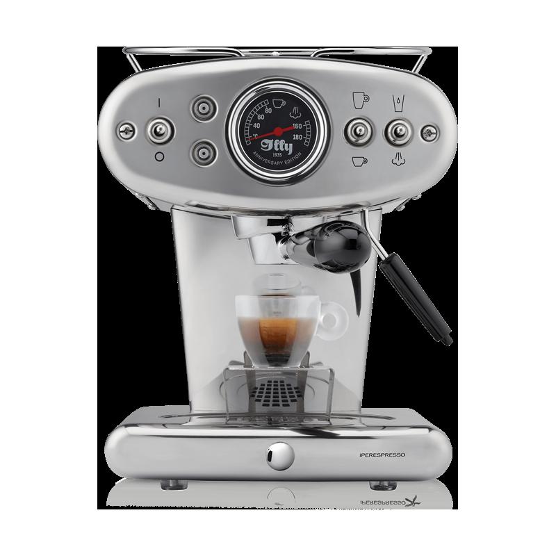 X1 IPERESPRESSO ANNIVERSARY 1935 CHROMIUM COFFEE MACHINE