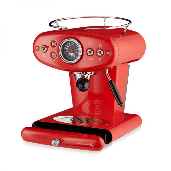 illy Thailand X1 Anniversary Edition Red - Open - buy red coffee machines online