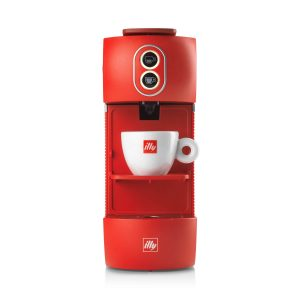 Illy ese pods coffee machine red